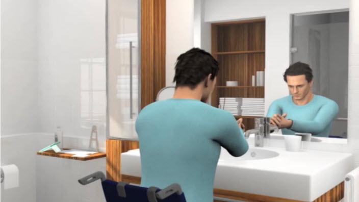Οδηγίες χρήσης για άνδρες με τον SpeediCath Compact